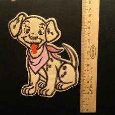 Аппликация детская Собачка №2 , цвет золотой