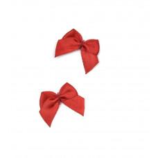 Бантики красные (250 шт в уп)
