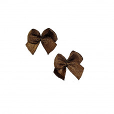 Бантики коричневые (250 шт в уп)