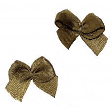 Бантики светло-коричневые (250 шт в уп)