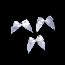 Бантики белые (250 шт в уп)