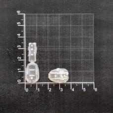 Концевик пластмассовый, цвет белый (1000шт.)