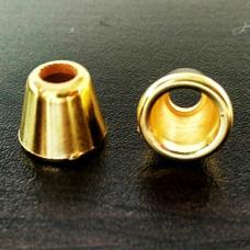 Концевик золото ( упаковка - 1000 штук), шт.