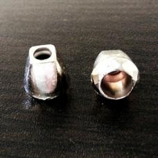 Концевик серебро- ромб (упаковка - 1000 штук), шт.