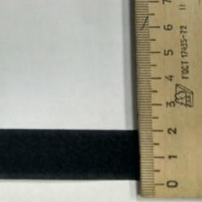 Липучка (пара) 20мм черная (25м-рулон), Рул