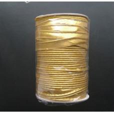 Кант атлас 11мм (72 ярда), золото, шт