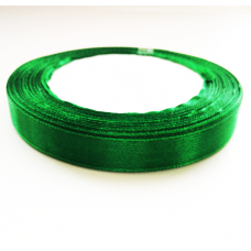 Лента атлас 1,2см 243 (33ярд в рул) зеленый, шт