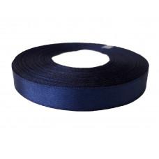 Лента атлас 1,2см 330 (33ярд в рул) темно-синий, шт