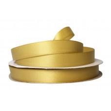 Лента атлас 1,2см  (33ярд в рул) горчица, шт