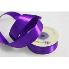 Лента атлас 2,5см 170 (33ярд в рул) фиолетовый, шт