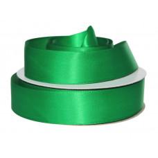 Лента атлас 2,5см 243 (33ярд в рул) зеленый, шт