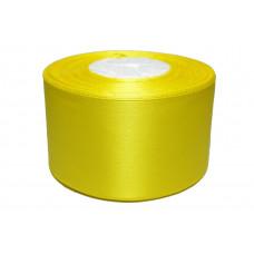 Лента атлас 5см 110 (33ярд в рул) желтая, шт
