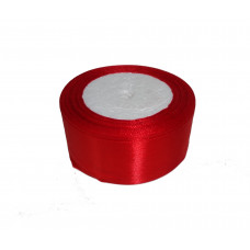 Лента атлас 5см 148 (33ярд в рул) красный, шт
