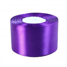 Лента атлас 5см 170 (33ярд в рул) фиолетовый, шт