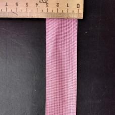 Лента окантовочная 32mm розовый № 90