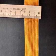 Лента окантовочная 32mm оранж № 77