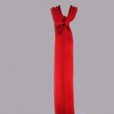 Молния тип-3 потайная нейлон 50см  148  красный, шт