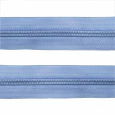 Молния рулонка Т5 200м в мотке G185 голубой, м