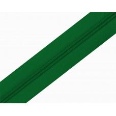 Молния рулонка Т5 200м в мотке 239 зелен, м