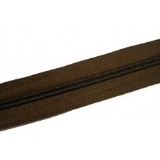 Молния рулонка Т5 200м в мотке  коричневы, м