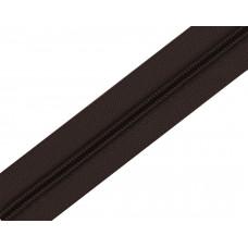 Молния рулонка Т5 200м в мотке G304 темно-коричневый 15 гр, м