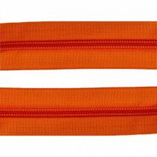 Молния рулонка Т5 200м в мотке G157 оранжевый 15 гр, м