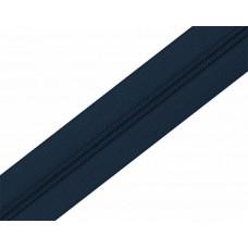 Молния рулонка Т5 200м в мотке 330 темный синий, м