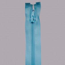 Молния спираль №5 60см 184 голубой (Упаковка 50шт.)