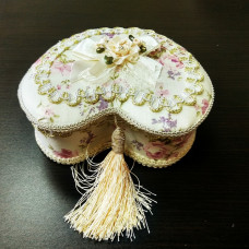 Шкатулка-декоративная, комплект 3 штуки