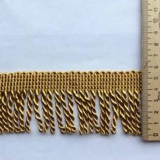 Бахрома большая 12м золото
