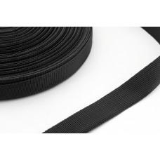 Стропа 22 мм 100 метров    черный