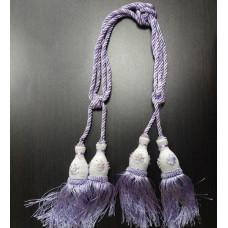 Захваты д/штор маленькие (4шт пара) фиолетовый, Пар