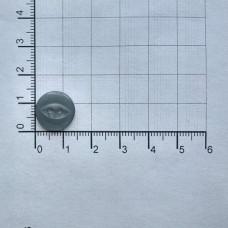 Пуговицы перламутровые, № 14, (уп. 1000 шт.), 316 серый