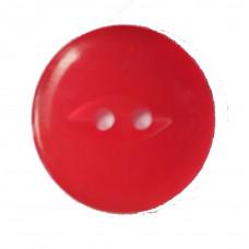Пуговицы перламутровые 17мм 148 красный 1000 штук