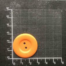 Пуговицы 48L, 30мм, упак. 100 шт., цвет оранжевый