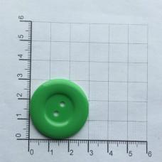 Пуговицы 48L, 30мм, упак. 100 шт., цвет зеленый