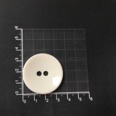 Пуговицы большие белые 54 L 100 штук