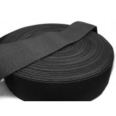 Эластичная резинка 20мм (упаковка - 50м), черный