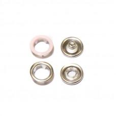 Кнопки 9,5мм розовый (кольцо) 1440 штук в упаковке