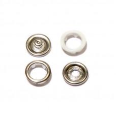 Кнопки 9,5мм белый (кольцо) 1440 штук в упаковке