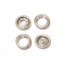 Кнопки 9,5мм никель (кольцо ) 1440штук в упаковке