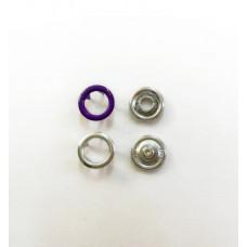 Кнопки 9,5мм фиолетовый (кольцо)   1440 штук в  упаковке
