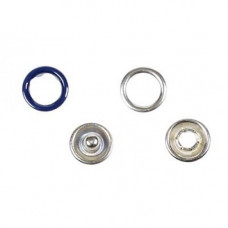 Кнопки 9,5мм темно синий (кольцо)   1440 штук в  упаковке