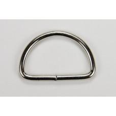 Полукольца никель, диаметр 30мм, уп.=500 шт.